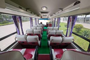 Tourist bus from Hanoi to Halong at cheap rate