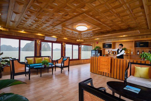 luxury day cruise lan ha bay day tour
